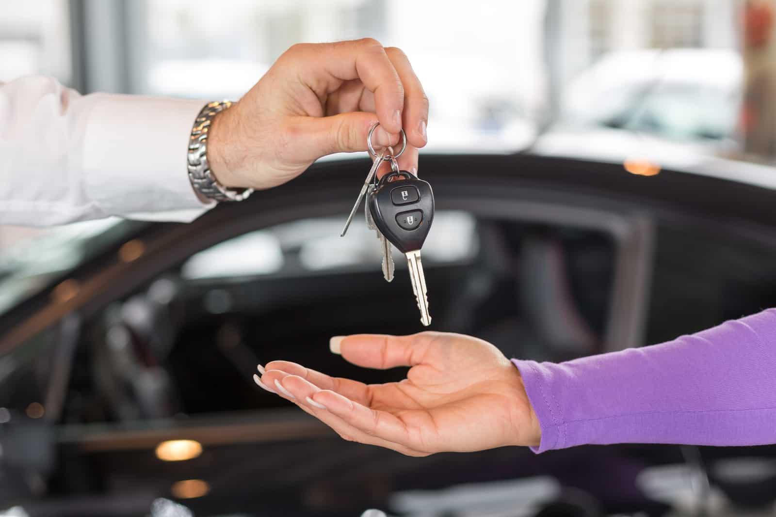 Handing off keys