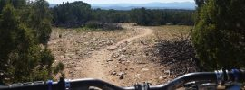 Trail over handlebars
