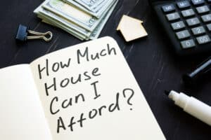 How much house can I afford image with calculator