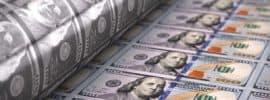 printing 100 dollar bills