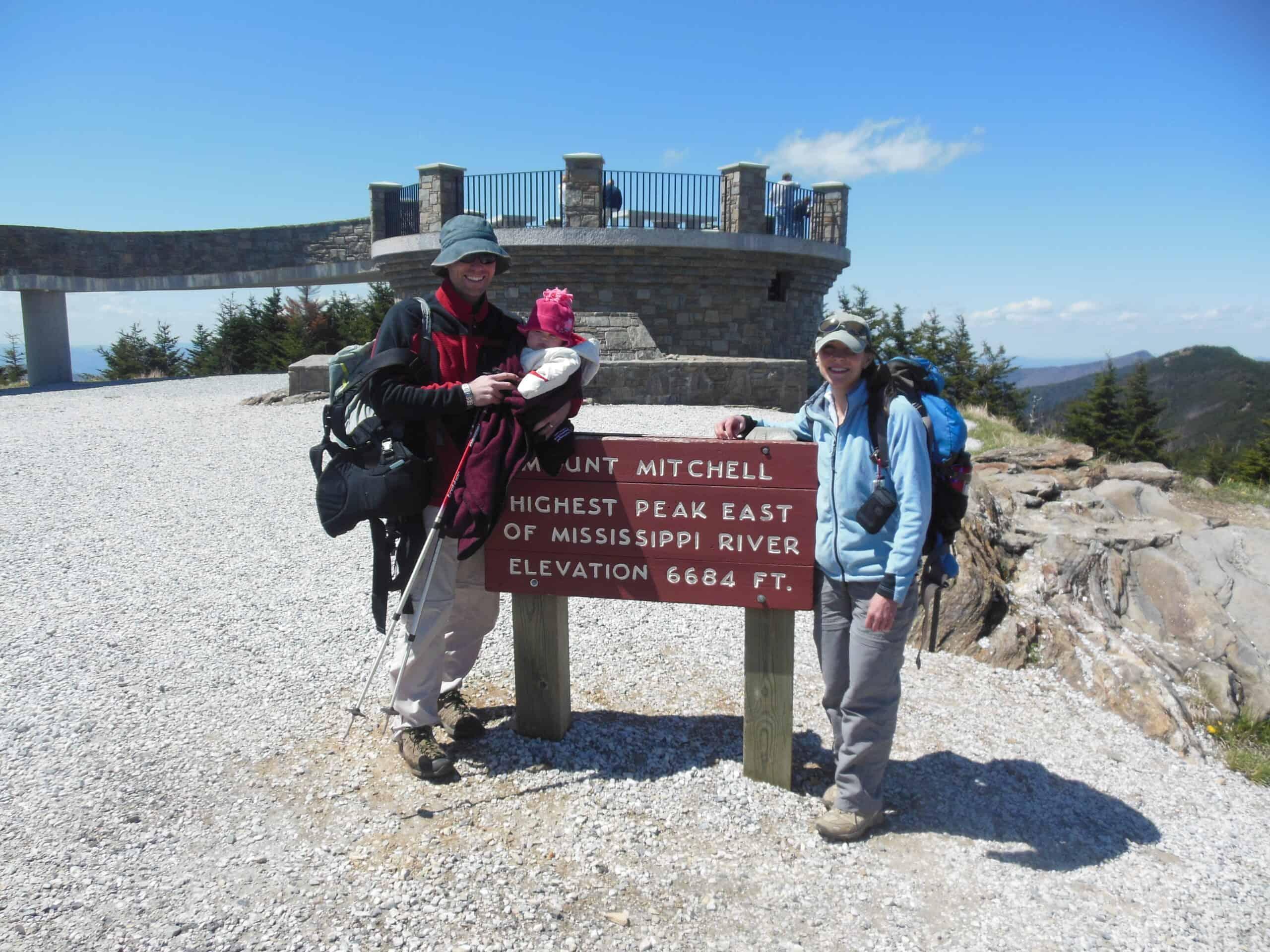 Summit of Mt Mitchell, NC