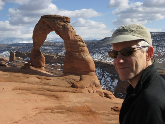 Delicate arch and Darrow
