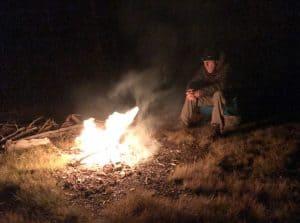 Darrow by campfire
