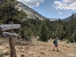 Muir Trail Ranch junction